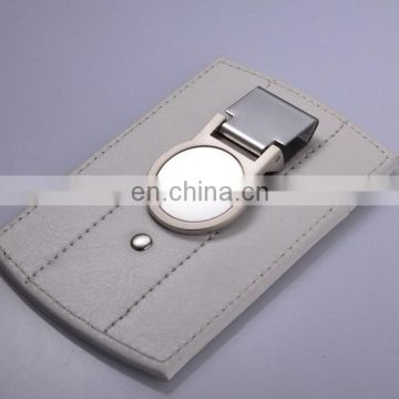 CUSTOM CARD WALLET WHOLESALE LEATHER MONEY CLIP WITH LOGO