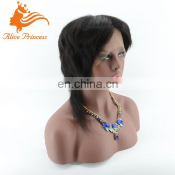 Free Shipping Qingdao Factory Made 9A Grade Quality 100% Remy Virgin Hair Full Lace Wig