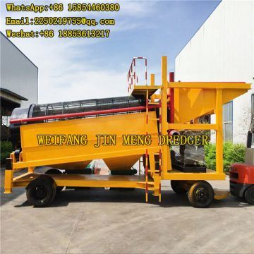 Sand Area 22*6.4*2 Gold Mining Machinery Ce Certificated