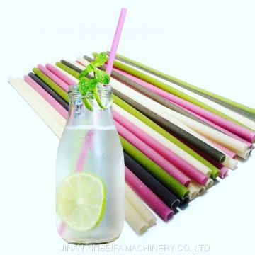 High quality Korean popular green non-polluting edible rice straw manufacturers