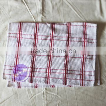 china wholesale factory direct cotton fabric waffle dish towel