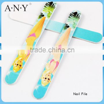 Nail Art Care Shaping and Polishing Customized Beauty Printing Nail File for Selling