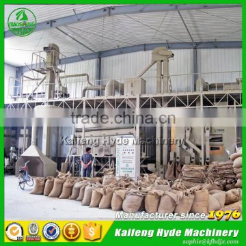 Hyde Machinery 5ZT rye seed cleaning plant