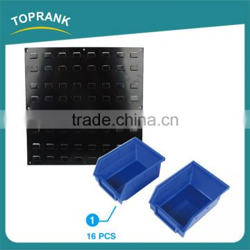 High quality wall mounted storage box plastic stackable storage bins