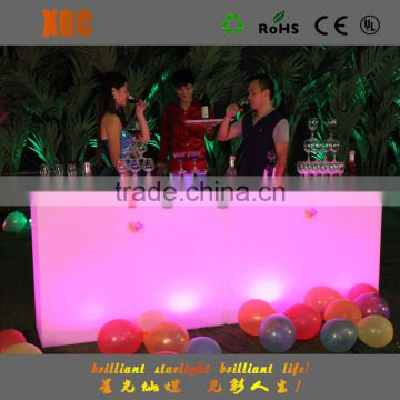 party event use commercial furniture wholesale nightclub led light bar cocktail table