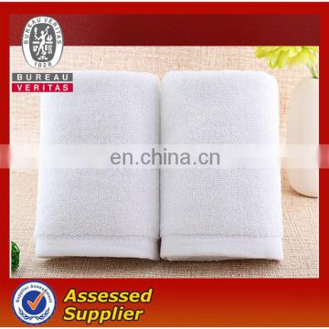 Hot sales white airline cotton disposable face towel