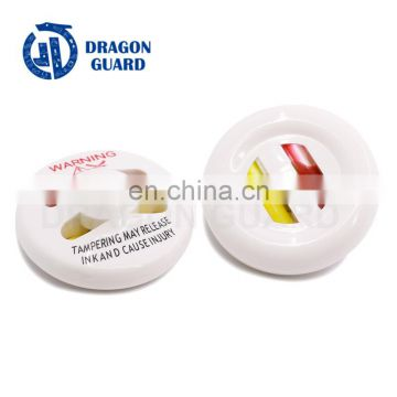 Transparent cone ink tag ink hard tag transparent ink tag for clothing shop (CE/ISO)