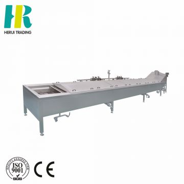 Pre-cooking machine for vegetable blanching
