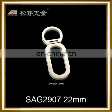zinc alloy strong strength carabiner eyelet snap hooks