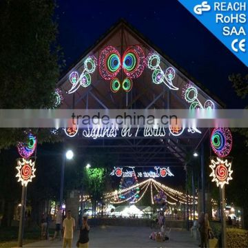 christmas decoration lights colorful outdoor led arch lights led motif light arch lights