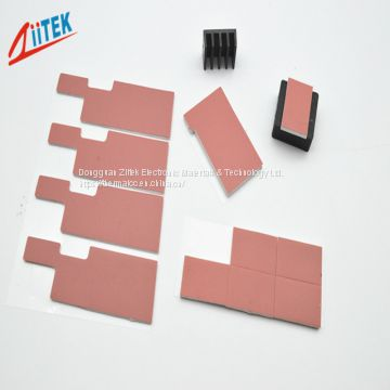 Silicone thermal conductive gap pad 1.25W/mK conductivity TIF200 -50 to 200℃ Temp for LED flood light