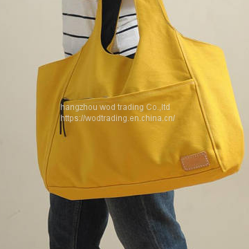 waterproof canvas hobo bag with waterproof fabric