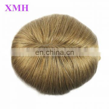 soft and natural human hair jewish wig short blonde kosher wig