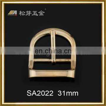 Customized Zinc Alloy Material Gilded Watch Buckle, Competitive Price Gold Gilded Men's Watch Buckle