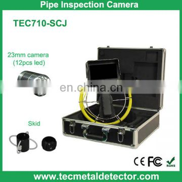 "30M Cable Waterproof Water Pipe Inspection Camera with 7"" Portable Monitor TEC710M-SCJ"