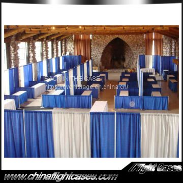 RK Used event wedding aluminum backdrop stand pipe and drape