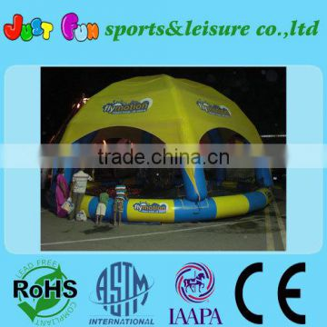 HOT SALE giant water ball pool with tent cover
