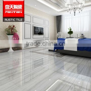 Chinese Cheap Promotion Polished Diamond White Marble Stone Floor