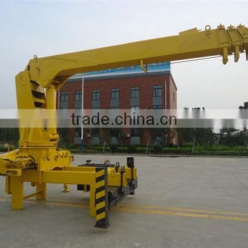 QYS6.3t straight arm type truck crane for sale