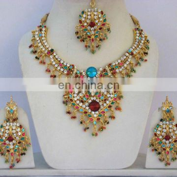 INDIAN DESIGNER COSTUME PARTYWEAR JEWELRY