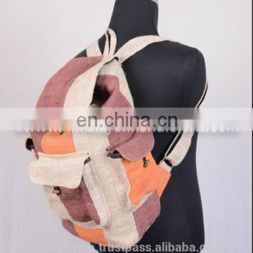 Stylist Trendy Carry Hemp Backpack HBB 0018