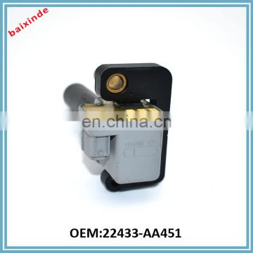 BAIXINDE Auto Ignition Coil OEM 22433-AA451 for SUBARUs Impreza WRX Forester SUBARUs Liberty Outback Generator Ignition Coil