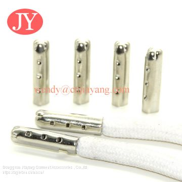 jiayang shoelace end lock shoelace aglets metal tips