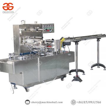 Food Packaging Equipment Spiral Wrapping Machine Electric