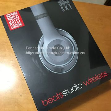 Beats by Dr  Dre Studio Wireless Headband Headphones of Headphones