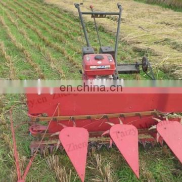 Low price paddy cutting machine for hot sale and rice wheat reaper machine