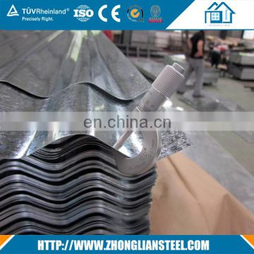 Chinese suppliers galvanized iron red color roofing sheet with high quality