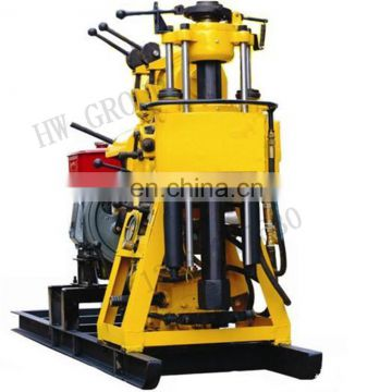 Borehole mud pump for drilling rig crawler mounted bore deep drilling machine