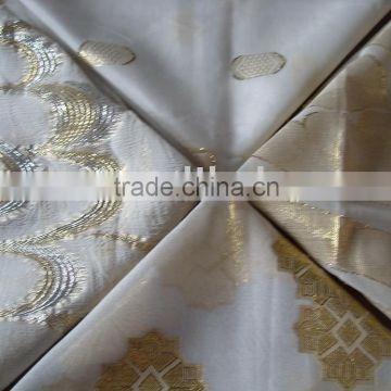 silk embroidery/embroidery fabric/embroidery