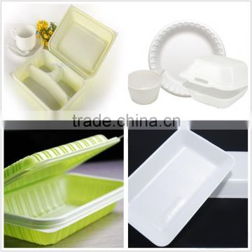 take away fast food box making machine