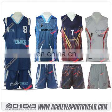 Custom New Style Basketball Jersey Sublimation New Design Basketball