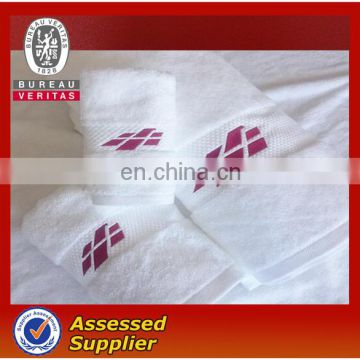 Towels manufacturer 100% cotton white batten terry bath towels for hotel