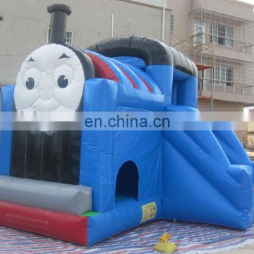 Thomas the tank engine inflatable bouncer, inflatable bouncer thomas train with slide CC020