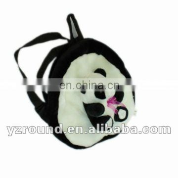 quality plush panda backpack for children
