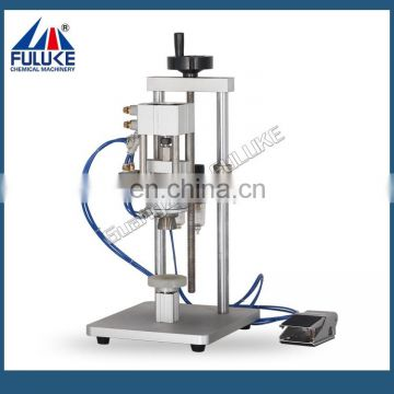 Semi-automatic Pneumatic Perfume Bottle Capping Machine Cap Screwing Machine