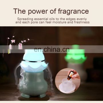 4W USB Charging night Luminescent Pearl Ultrasonic Aromatherapy Humidifier with LED Colorful Light for Home / Office