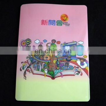 A4 japanese plastic file folder with pocket