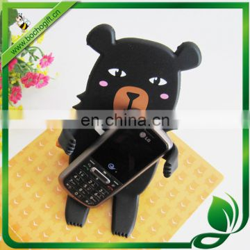 bendable phone holder, rubber cell phone holder, cute animal smartphone holder