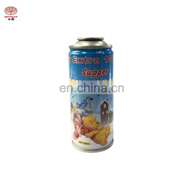 Guangzhou manufacturer of empty aerosol can  with cmyk for body spray
