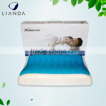 Standard Wholesale Price Cool Gel Memory Foam Pillow with Cooling Ventilated Sleep Technology