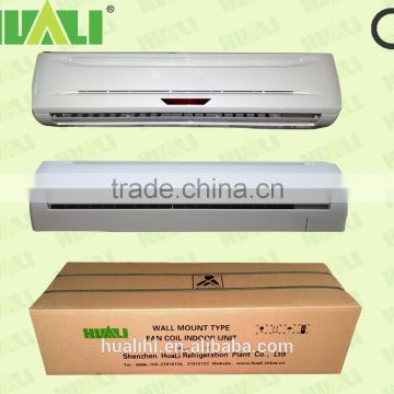 Hot water wall mounted electric fan coil unit motor