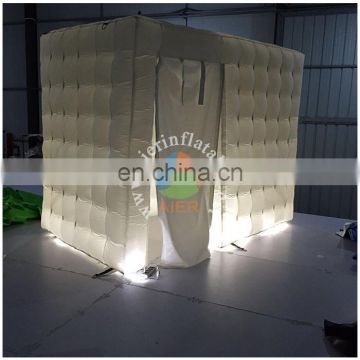 small inflatable tent, photo tent