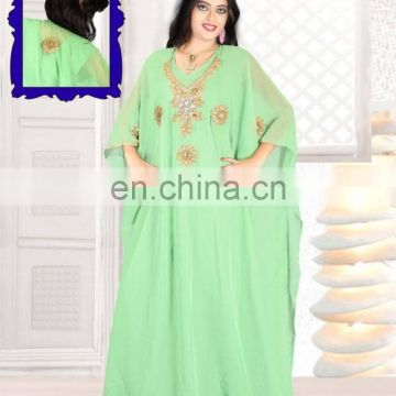 Maxi dress Moroccan Kaftan Islamic Arabian DRESS for women