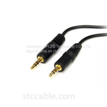 6 ft 3.5mm Stereo Audio Cable – male to male