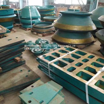 jaw crusher spare parts metso C95 C96 jaw plate