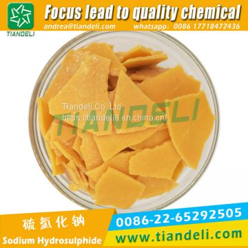sodium sulphide yellow/red flakes 60%min 30-150ppm